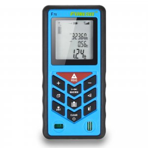Foneso F70 70m Laser Distance Measurer Tool (229ft)