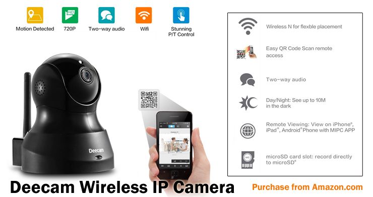 Deecam Wireless IP Camera